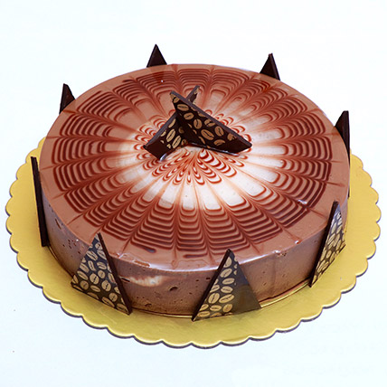 Rich Cappuccino Cake: Send Gifts to Bahrain