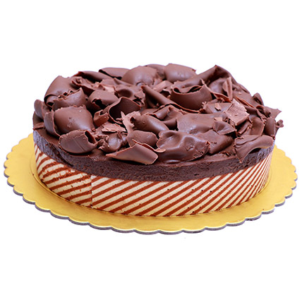 Yummy Chocolate Mousse Cake: Send Gifts to Bahrain