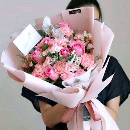 The Perfect Pink Bouquet: Send Gifts To China