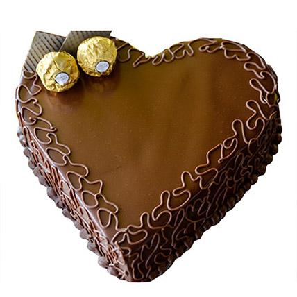 Heart Choco Cake EG: Send Cakes to Egypt