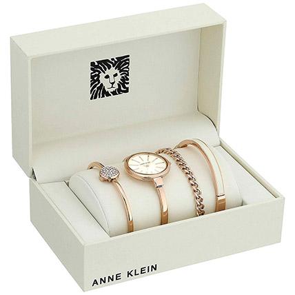 4 Piece Ladies Set Anne Klein White Color: Accessories