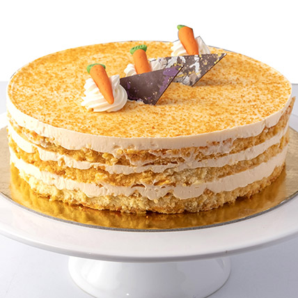 4 Portions Carrot Cake:  Cakes Half Kg