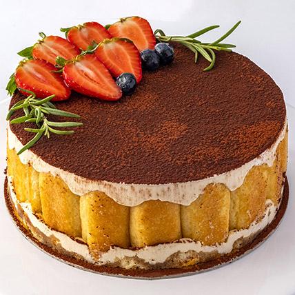 4 Portions Tiramisu Cake: Cakes