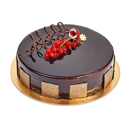 e183f0882967 500gm Eggless Chocolate Truffle Cake  Cakes Delivery in Abu Dhabi