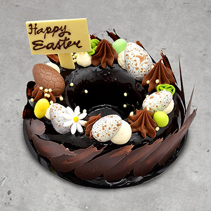 8 Portion Easter Nest Cake: Easter Gifts
