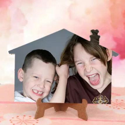 Appealing Personalized Photo Frame: Bhai Dooj Personalised Gifts
