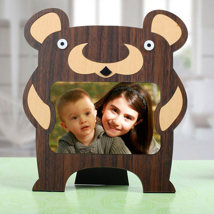 Bear Personalized Photo Frame: Back to School Gifts
