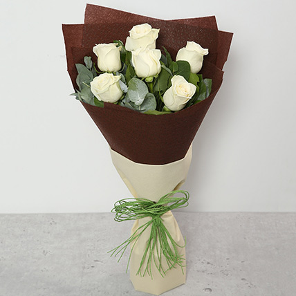 Bouquet Of White Roses: Gifts Combos