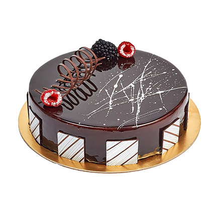 Chocolate Truffle Birthday Cake: Birthday Cakes for Men