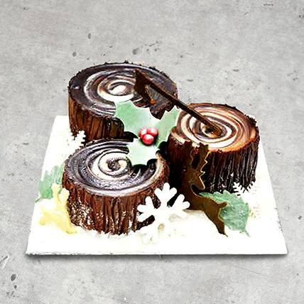 Chocolate Trunk Cake: Designer Cakes for Anniversary
