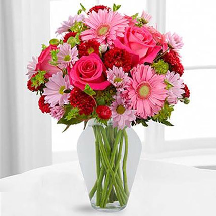 Color Your Day With Happines Bouquet: Chrysanthemums