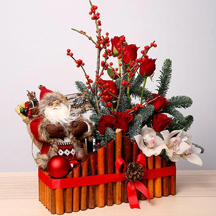 Exotic Christmas Arrangement: Christmas Flowers to Umm Al Quwain