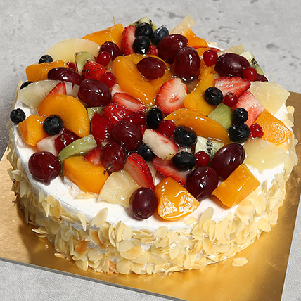 Fresh Fruit Fantasy: Cakes