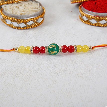 Gorgeous Beads Rakhi: Rakhi to Fujairah