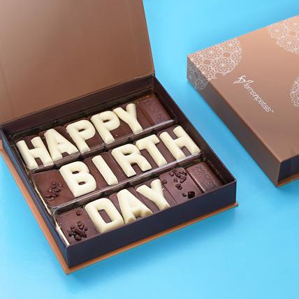 Happy Birthday Chcocolate: Birthday Chocolates