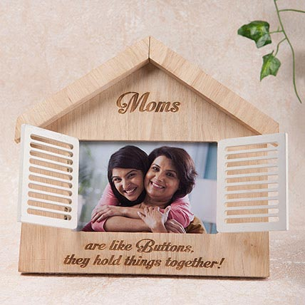 Hut Shaped Personalized Frame: Personalised Gifts to Sharjah