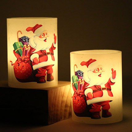 Light Up With Santa: Candles