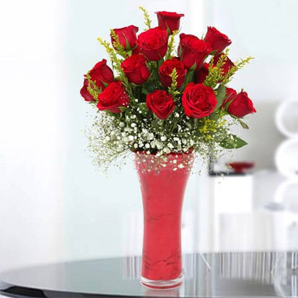 Long Stem Red Roses: Flower Delivery for Him