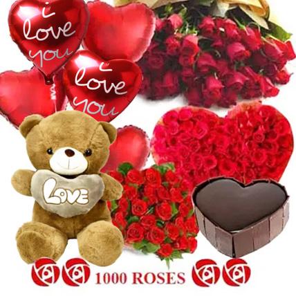 Lost in Love: Birthday Flowers & Teddy Bears