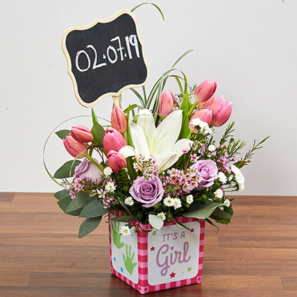 Pastel Flowers Arrangement: Flower Arrangements