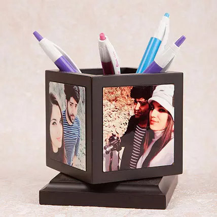 Personalized Pen Holder: Daughters Day Gifts