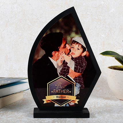 Personalized Wooden Trophy For Dad Personalised Gifts To Umm Al Quwain