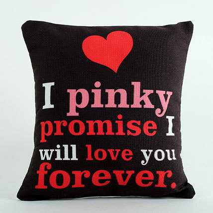 Pinky Promise Cushion: Promise Day Gifts