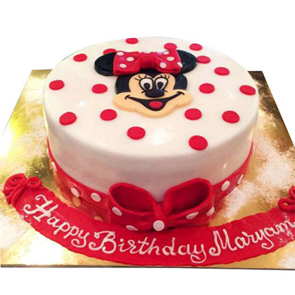 Pretty Minnie Cake: Minnie Mouse Cakes