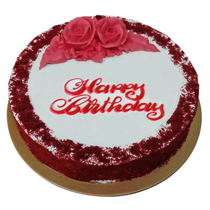 Red Velvet Birthday Cake Delivery In Al Ain