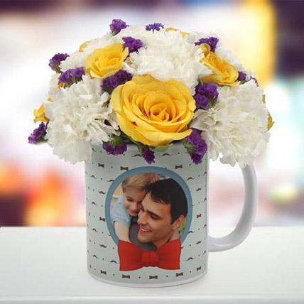 Spectacular Floral Arrangement: Gifts for Dad