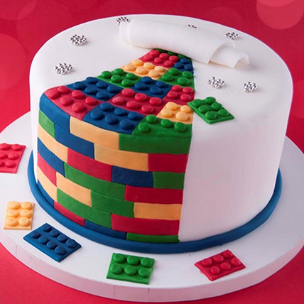 The Lego Blocks Cake 3 Kg: Lego Cakes