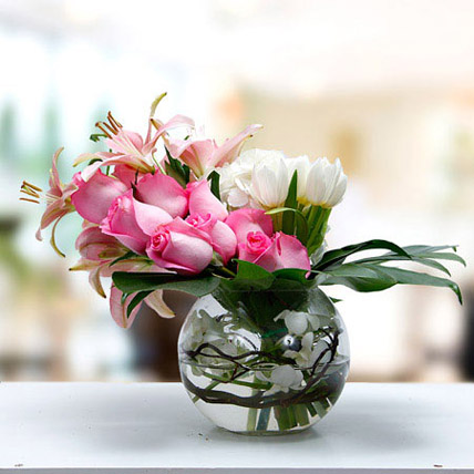 Romance In Heart: Mixed Flowers
