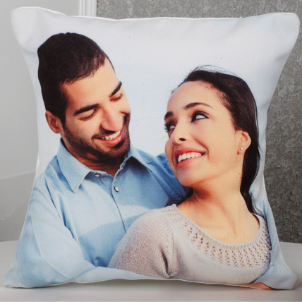 Personalized Picture Cushion: Anniversary Personalised Gifts