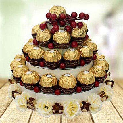 Chocolate Tower: Chocolates