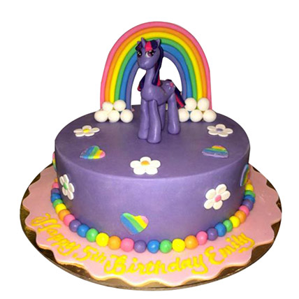 Pony the cartoon Cake: Little Pony Cake