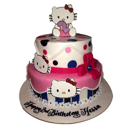 Cute Kittens Cake: