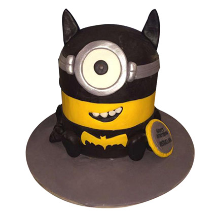 Minion Batman Cake: Minion Cake