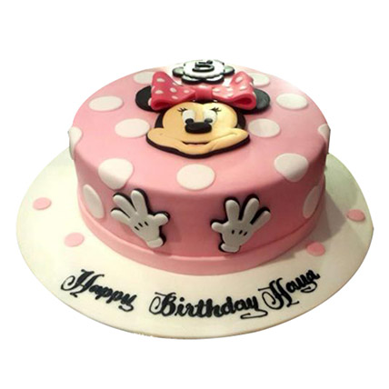 Disney Minnie Cake: Minnie Mouse Cake
