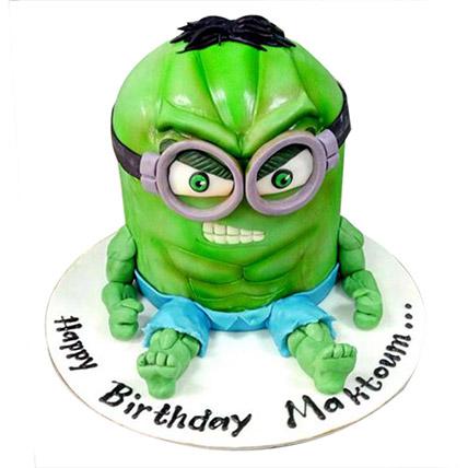 Minion Green Cake: Minion Cakes