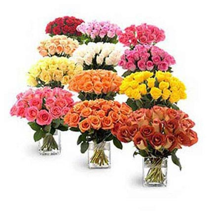 Twelve Bouquets of Roses: Birthday Gifts to Ras Al Khaimah