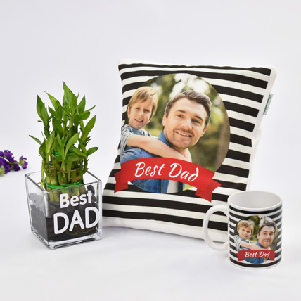 Best Dad Ever Combo: Personalized Fathers Day Gifts 2019