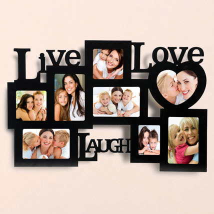 Live Love Laugh Photo Frame: Personalised Photo Frames
