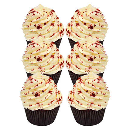 Romantic Red Velvet Cupcakes: Christmas Cakes
