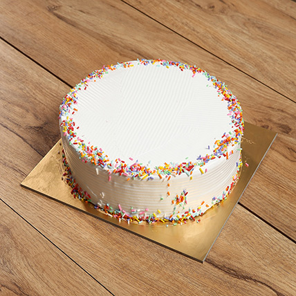 Eggless Rainbow Cake:  Eggless Cake Delivery