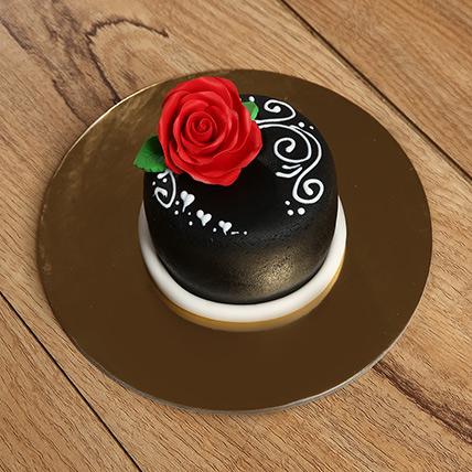 Designer Rose Mono Cake: Gifts for Boys