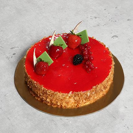 Flavoursome Strawberry Cheesecake: Cheesecakes