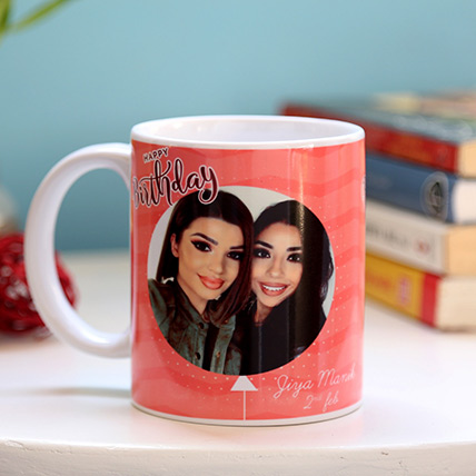 Personalised Pink Birthday Mug: Personalised Gifts to Dubai
