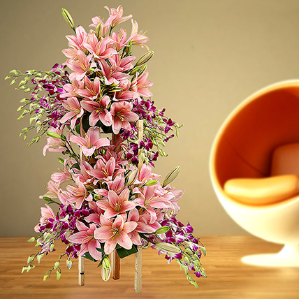 Grand Celebratory Bouquet: Lilies Bouquet