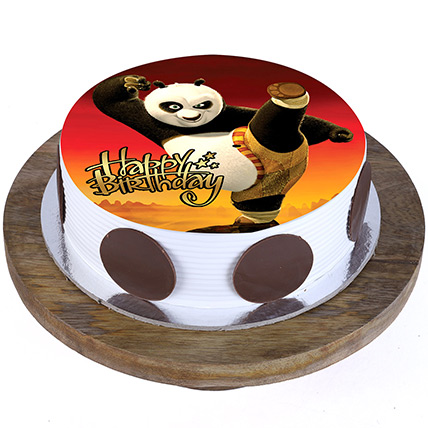 Kung Fu Panda Cake: Cartoon Cakes for Kids