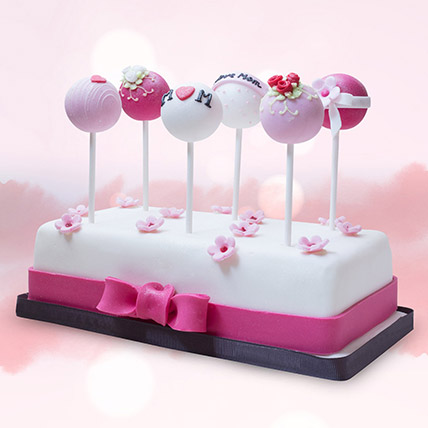 Customised Cake Pops 6 Pcs: Cake Pops